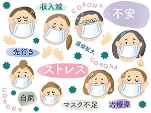 新型コロナウイルス不安